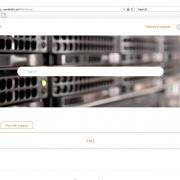 Support Portal Screenshot